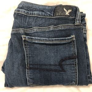 American Eagle Skinny Jeans Size 14